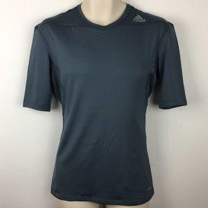 NWT Adidas Compression Shirt Top Tee Climalite L